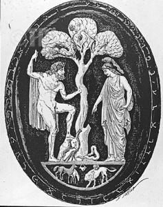 Atenea y Poseidón